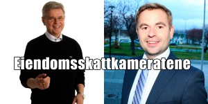 Ordfører Ole Henrik Hjartøy og Varaordfører Allan Ellingsen klarte ikke la være å øke eiendomsskatten.
