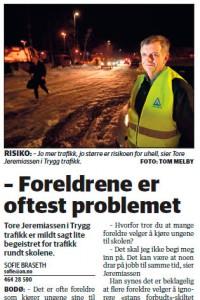 Ja mon det, Tore Jeremiassen og Trygg Trafikk?