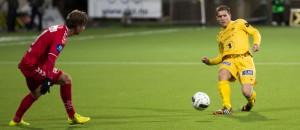 Thomas Jakobsen er en av de 24 spillerne som per 16. april 2015 utgjør spillerstallen til Bodø/Glimt. Foto: Per Inge Johnsen.
