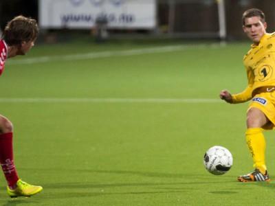 Thomas Jakobsen er en av de 26 spillerne som per 16. april 2015 utgjør spillerstallen til Bodø/Glimt. Foto: Per Inge Johnsen.