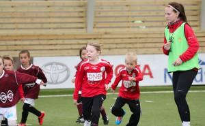 Full fokus både blant spillere og dommere på Reipå cup i helgen. Foto: Jim Roald Eiksen.
