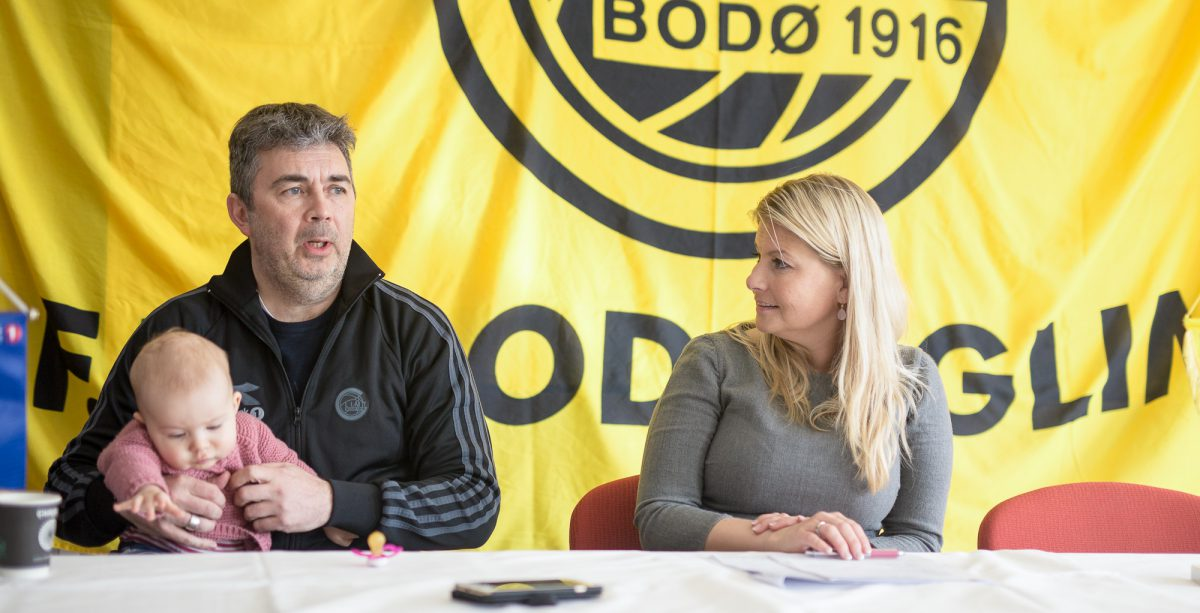 Daglig leder Frode Thomassen og styreleder Hege Leirfall Ingebrigtsen. Foto: Per-Inge Johnsen.