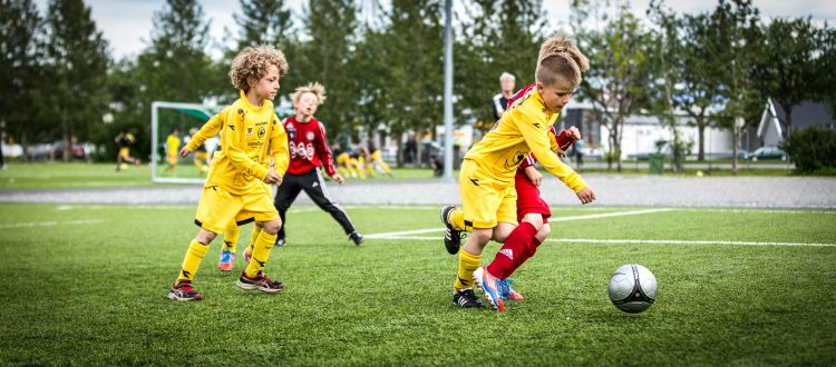 Barnefotball, illustrasjonsbilde fra 2013. Foto: Per-Inge Johnsen.